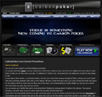 Carbon Poker Homepage