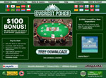 Everest Poker Homepage