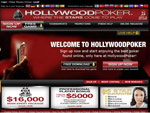 HollyWood Poker Homepage