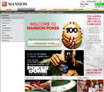 Mansion Poker Homepage