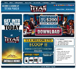 Titan Poker Homepage