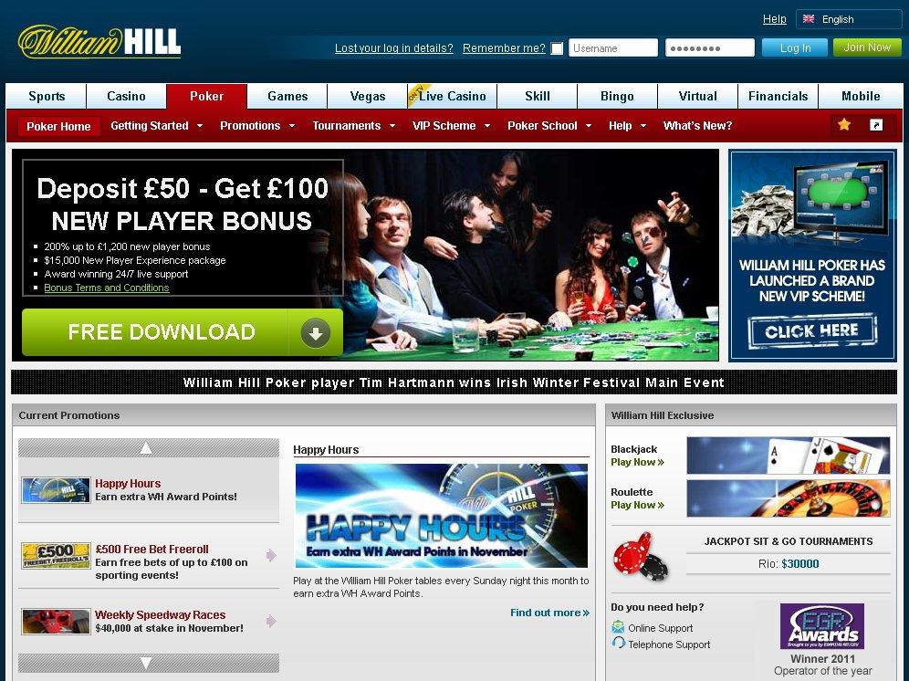 william hill homepage